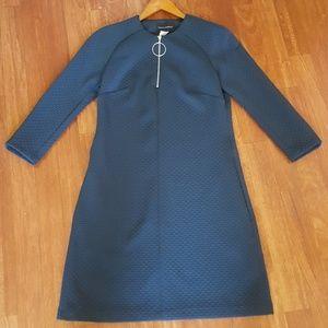 Evergreen Textured Knit Dress